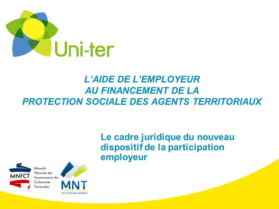 Le cadre juridique du nouveau dispositif de la participation employeur