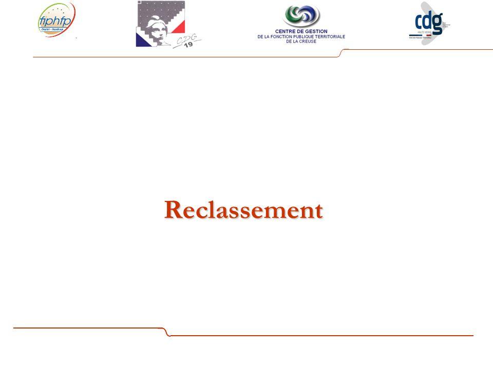 Reclassement