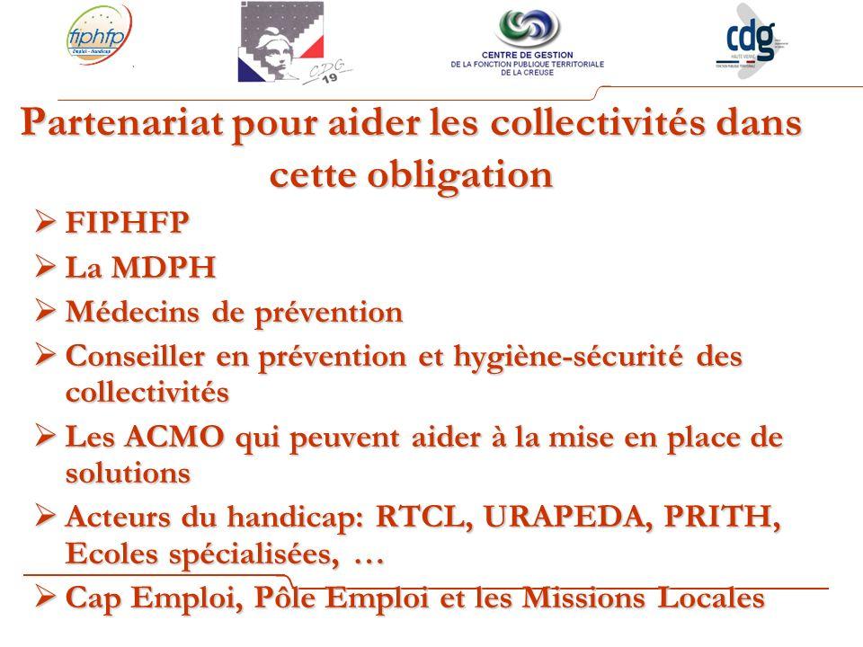 Partenariat pour aider les collectivités dans cette obligation