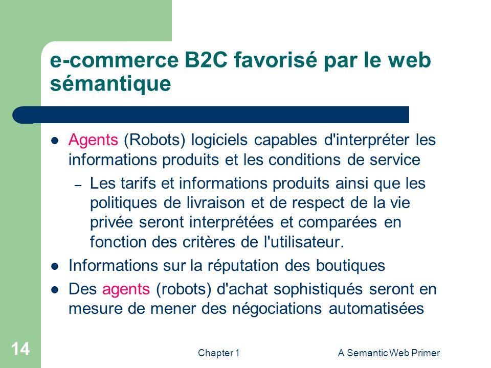 e-commerce B2C favorisé par le web sémantique
