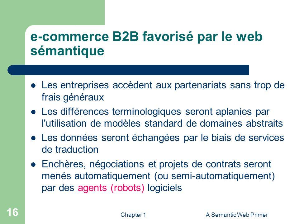 e-commerce B2B favorisé par le web sémantique