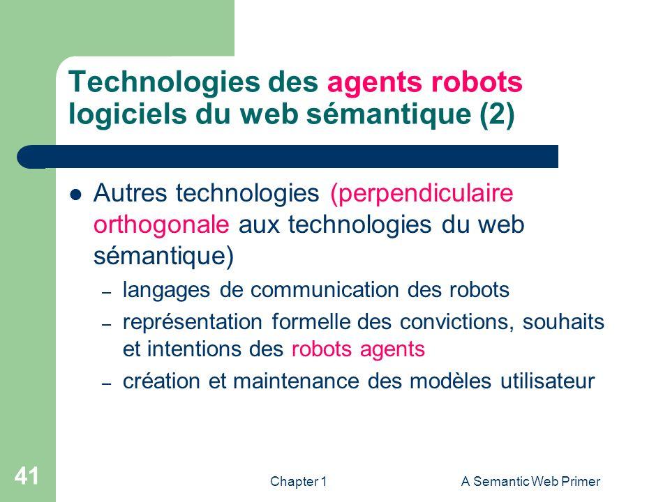 Technologies des agents robots logiciels du web sémantique (2)