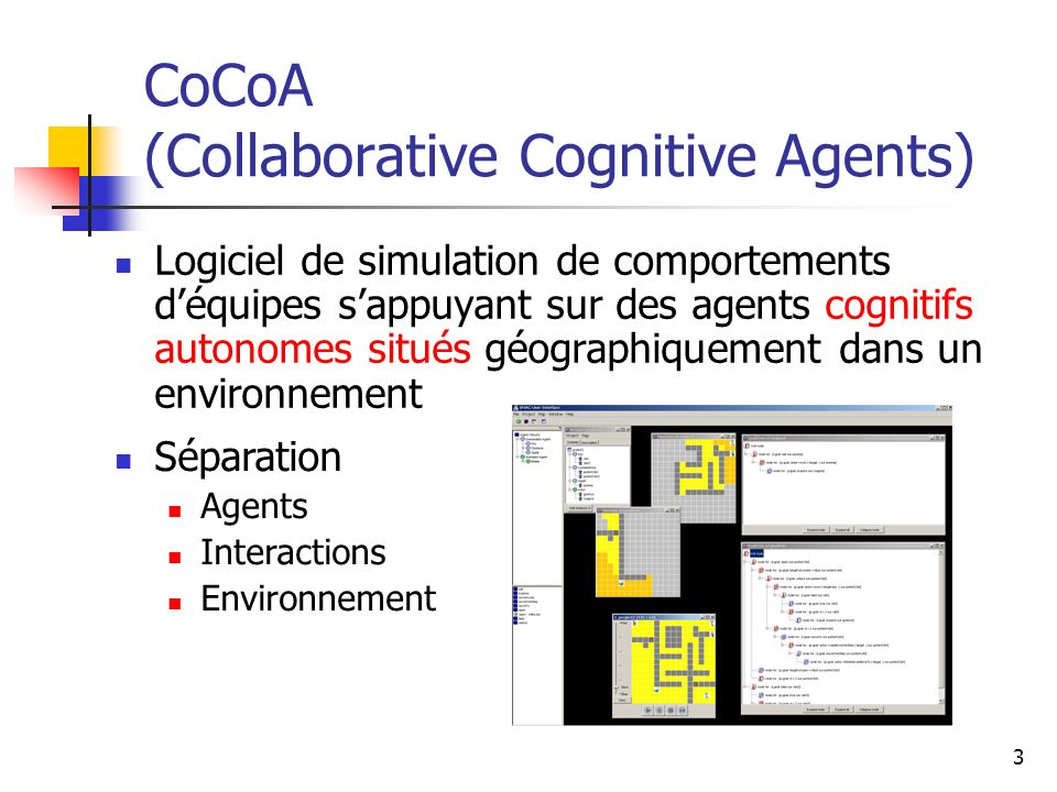 CoCoA (Collaborative Cognitive Agents)