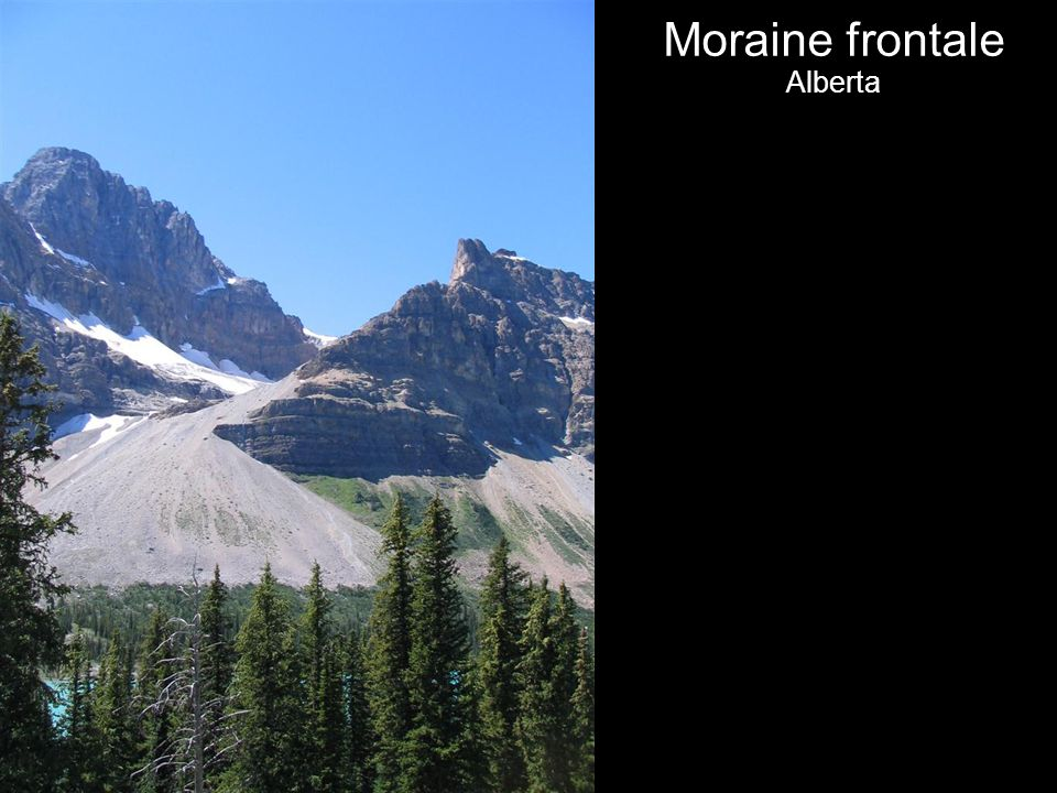 Moraine frontale Alberta