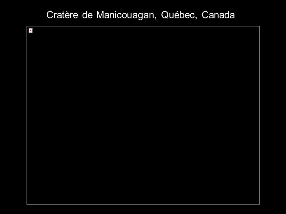 Cratère de Manicouagan, Québec, Canada