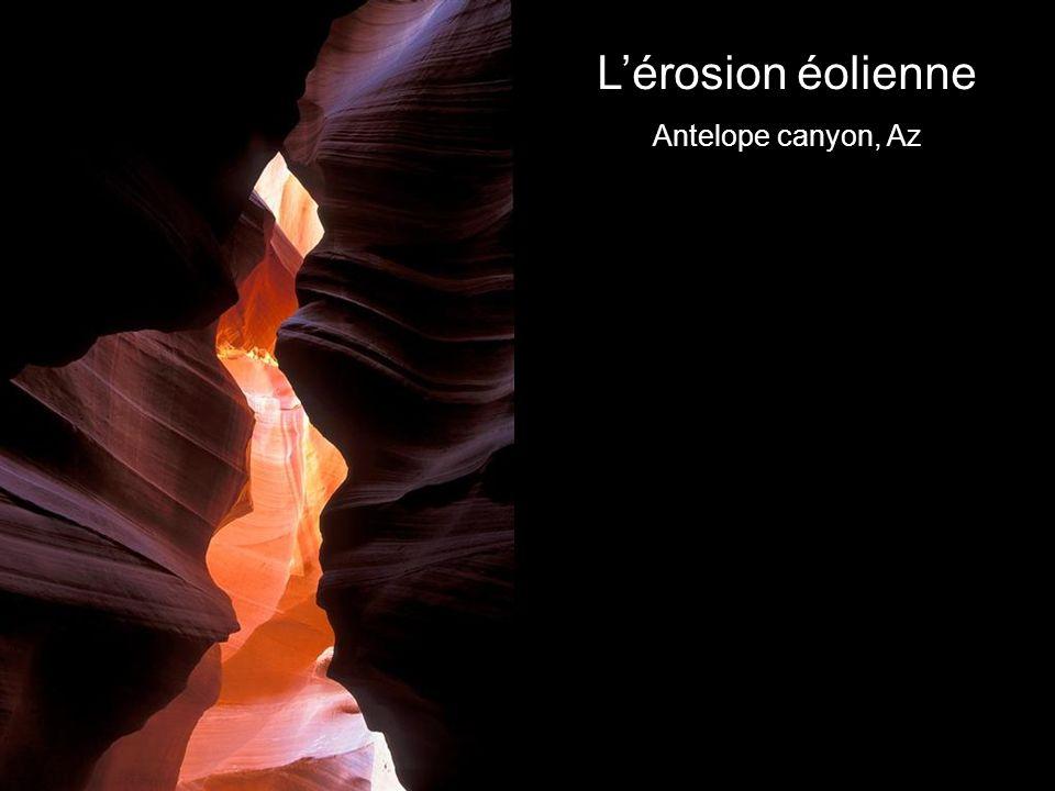L'érosion éolienne Antelope canyon, Az