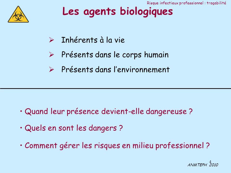 Les agents biologiques