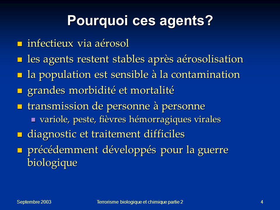 Terrorisme biologique et chimique partie 2