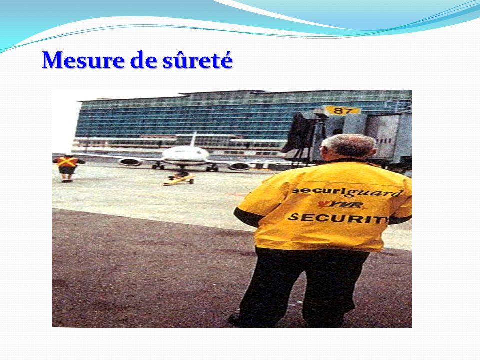 Mesure de sûreté