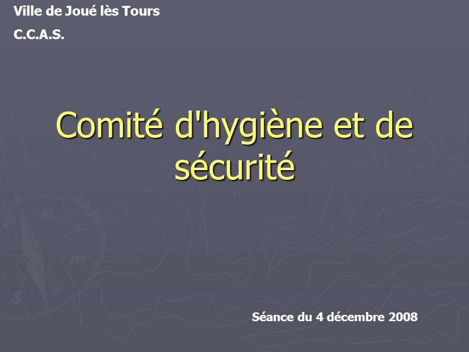 Comité d hygiène et de sécurité