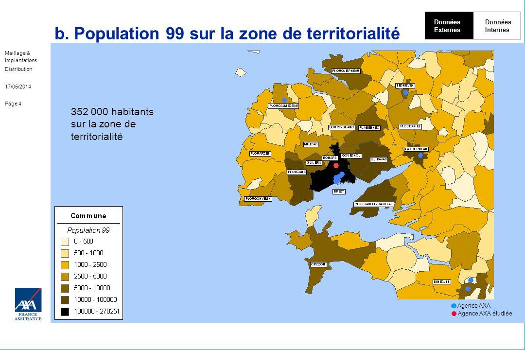b. Population 99 sur la zone de territorialité