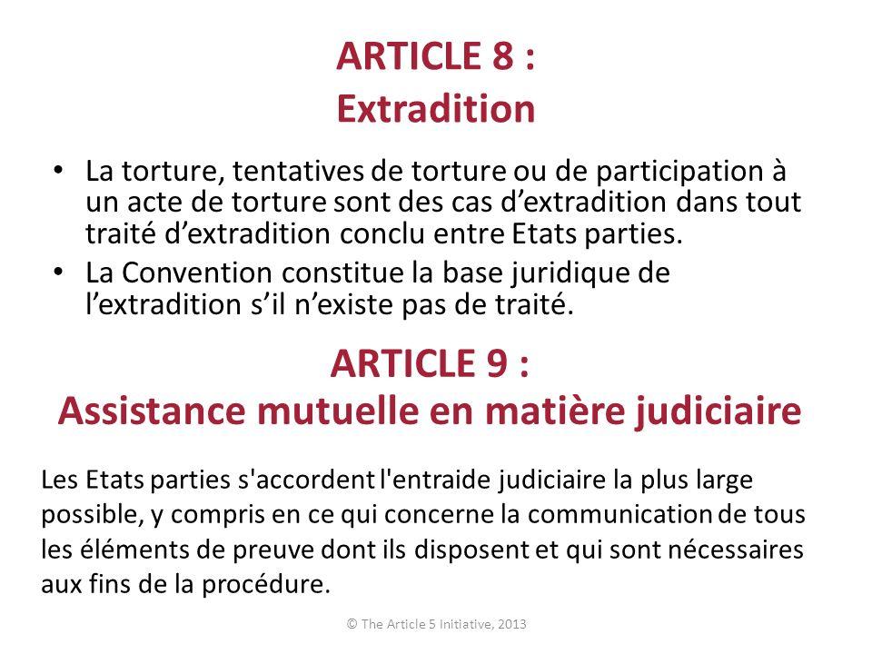 Assistance mutuelle en matière judiciaire