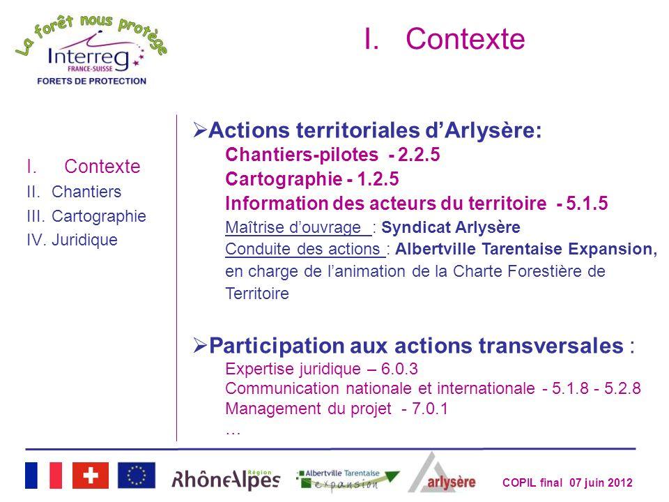 Contexte Actions territoriales d'Arlysère:
