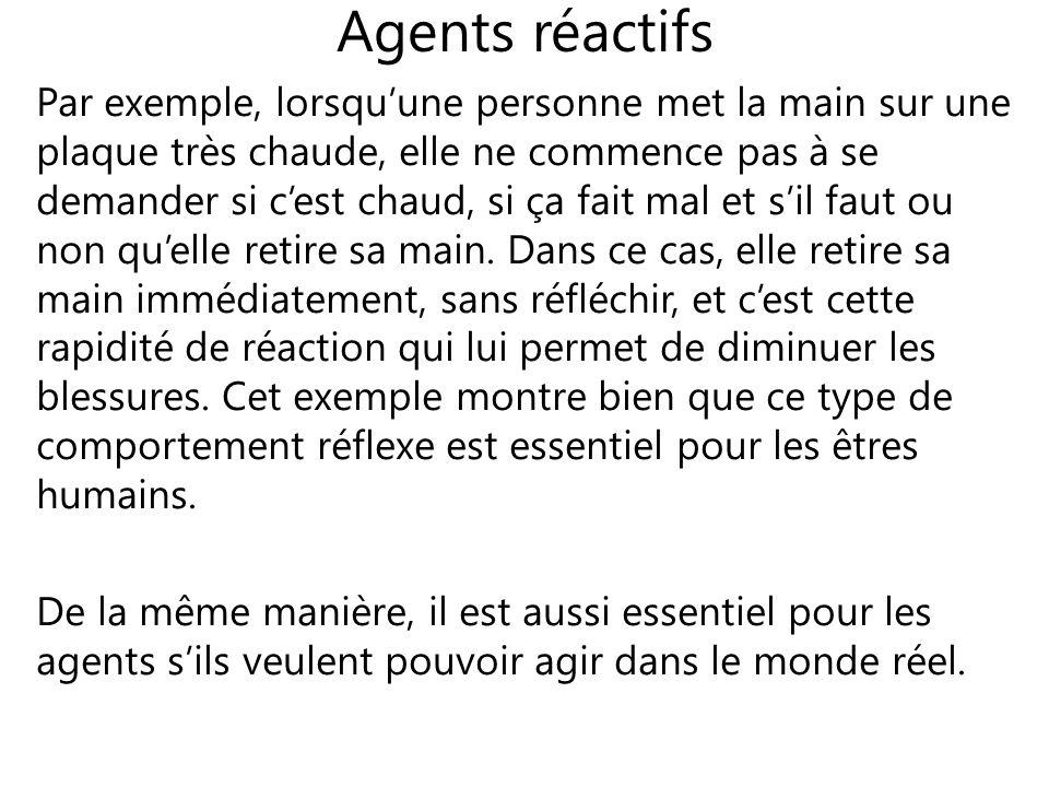 Agents réactifs