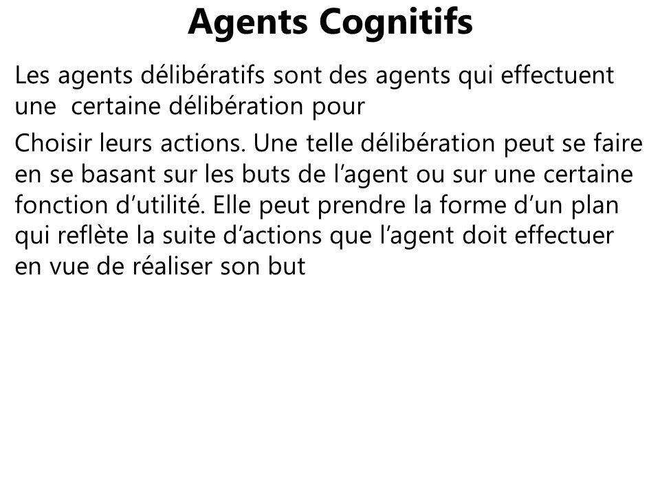 Agents Cognitifs