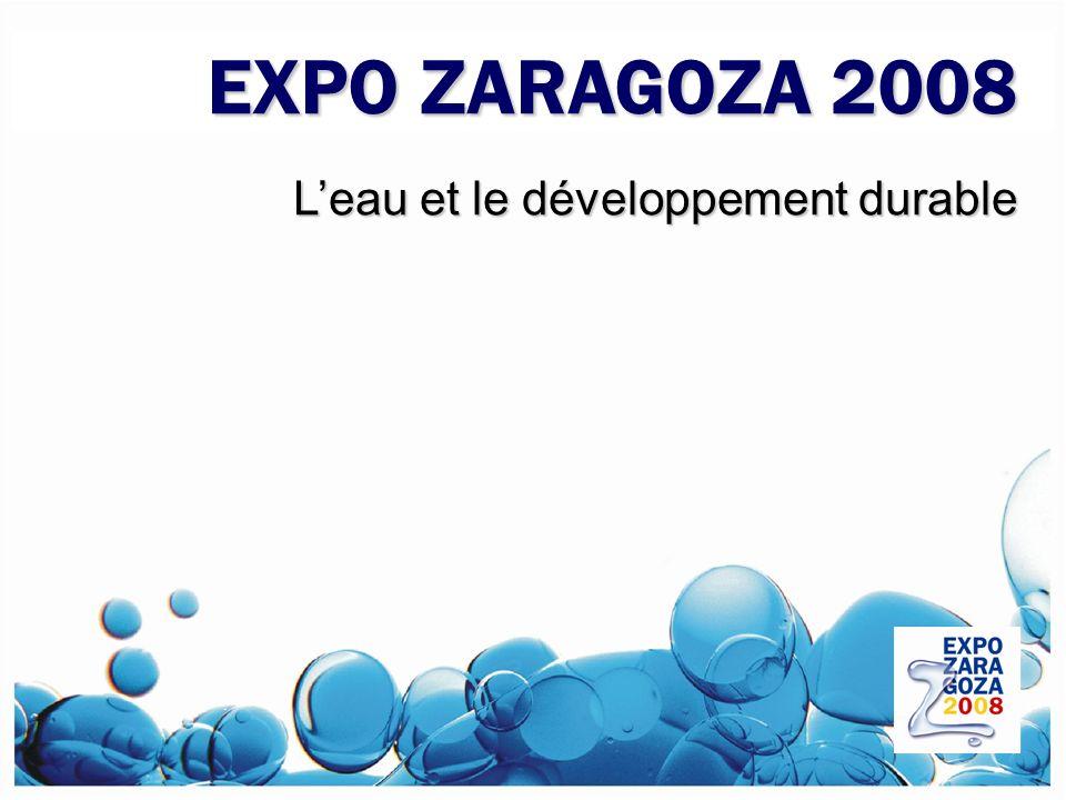 EXPO ZARAGOZA 2008 L'eau et le développement durable