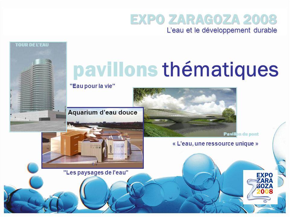 pavillons thématiques