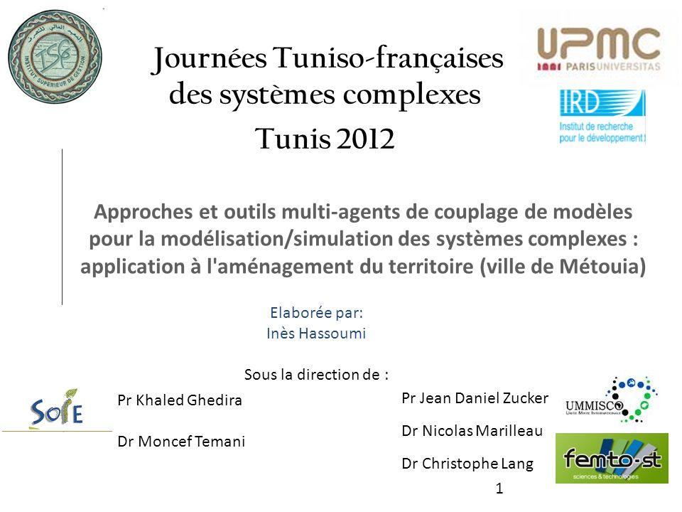 Journées Tuniso-françaises des systèmes complexes