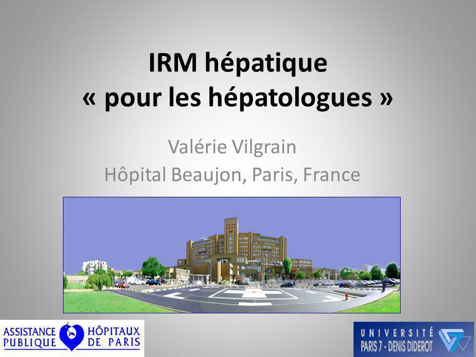 IRM hépatique « pour les hépatologues »