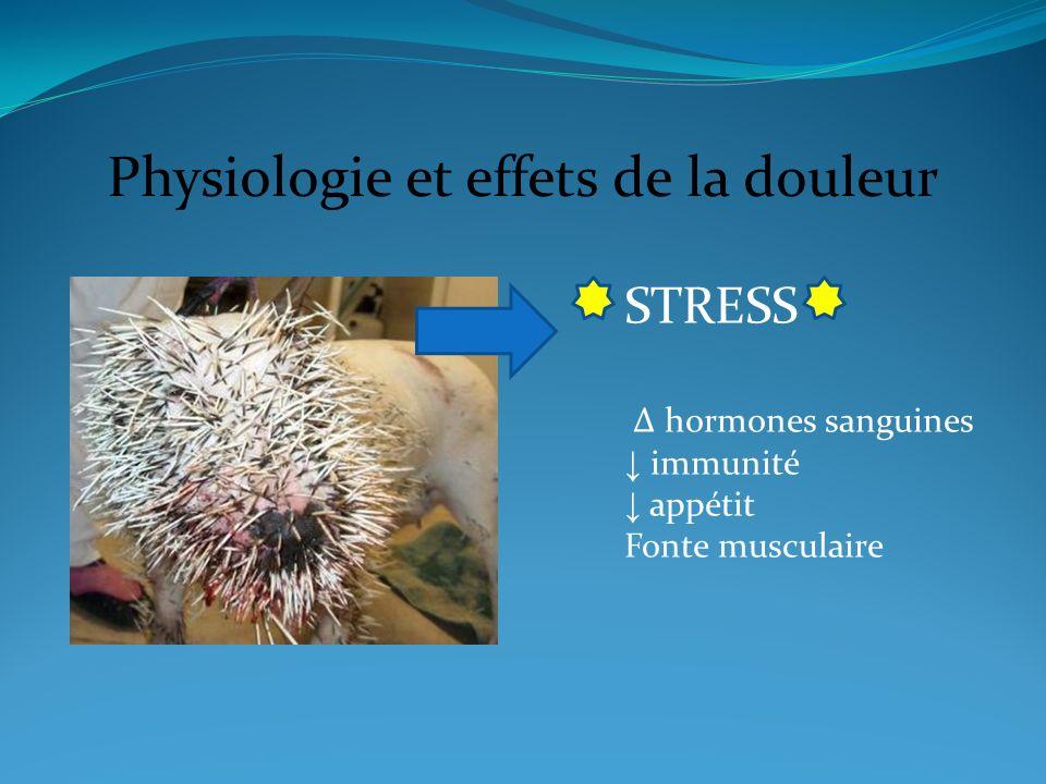 Physiologie et effets de la douleur