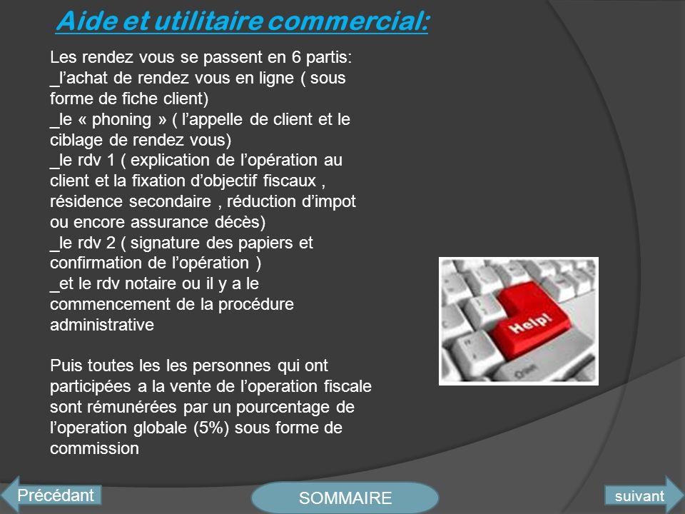 Aide et utilitaire commercial: