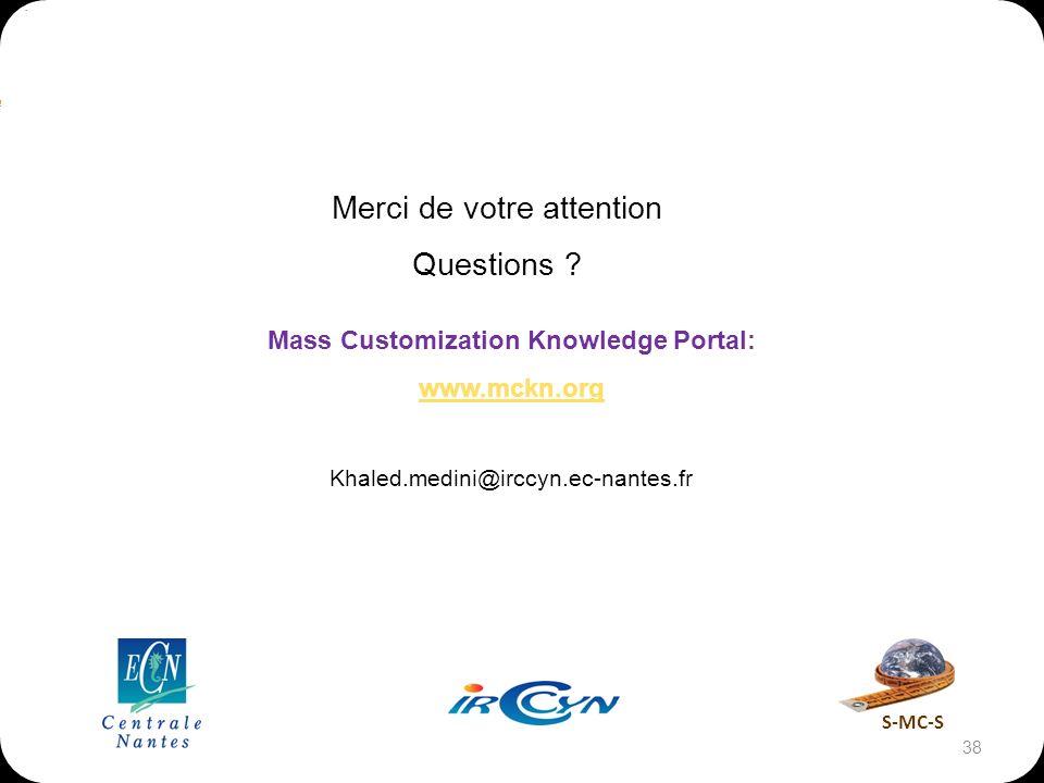 Mass Customization Knowledge Portal: