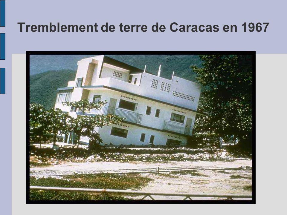 Tremblement de terre de Caracas en 1967
