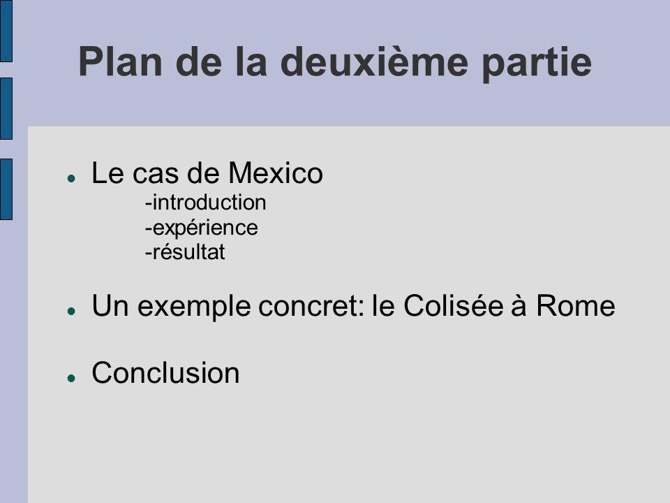 Plan de la deuxième partie