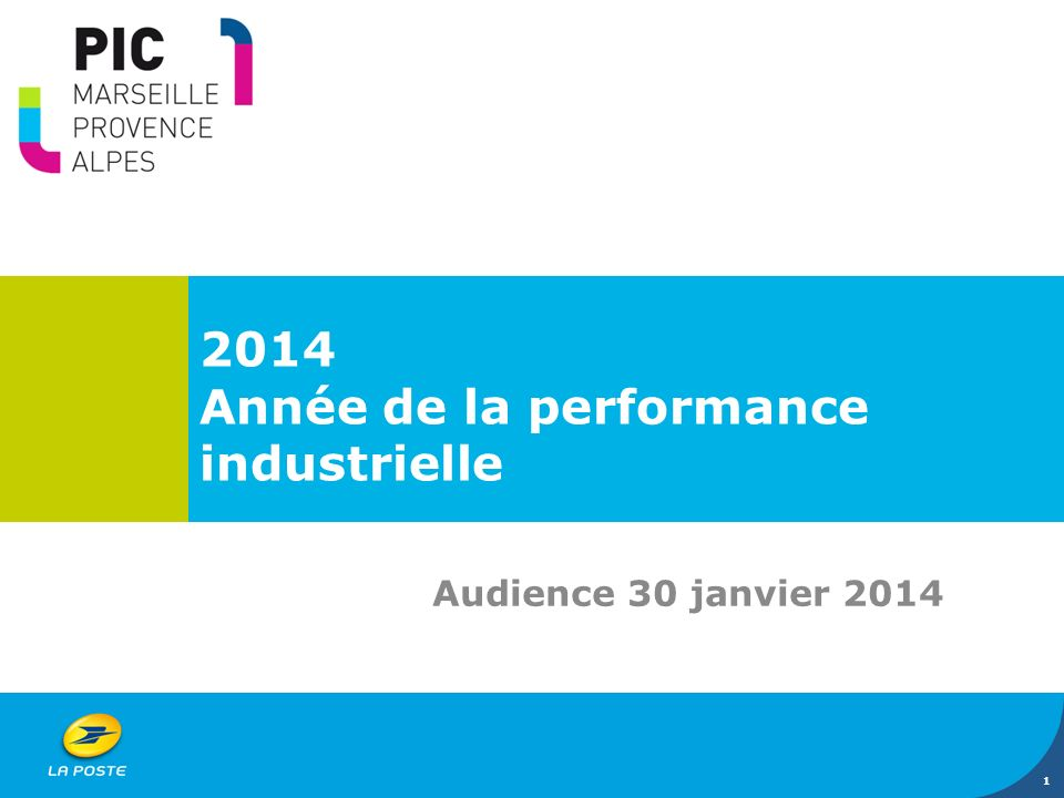 2014 Année de la performance industrielle