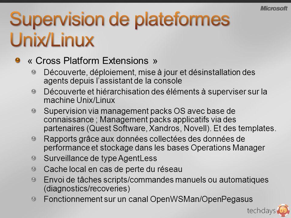 Supervision de plateformes Unix/Linux