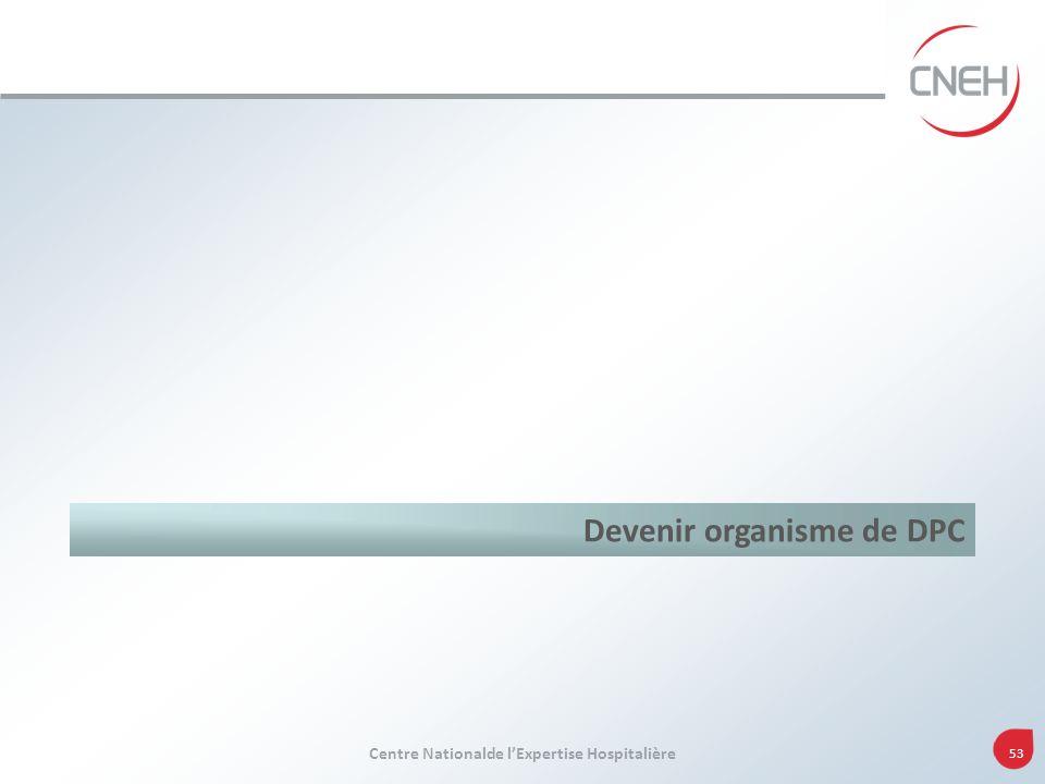 Devenir organisme de DPC