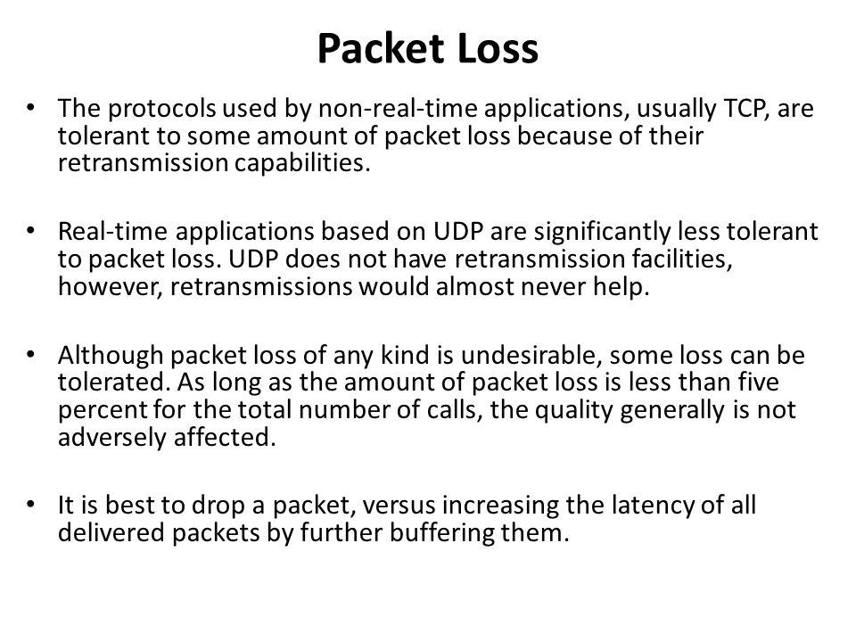 Packet Loss