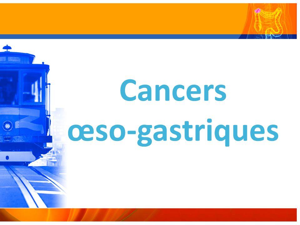 Cancers œso-gastriques