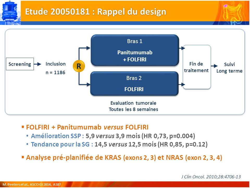 Etude 20050181 : Rappel du design