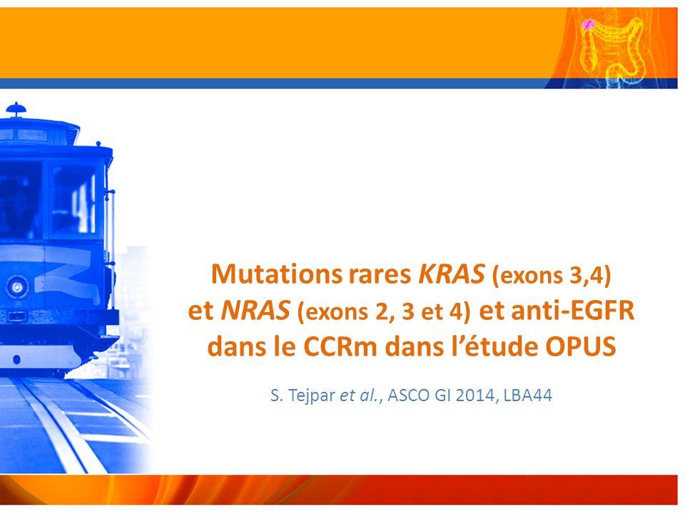 S. Tejpar et al., ASCO GI 2014, LBA44