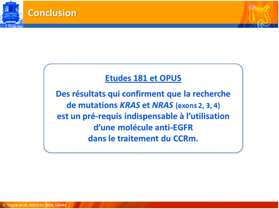 Conclusion Etudes 181 et OPUS