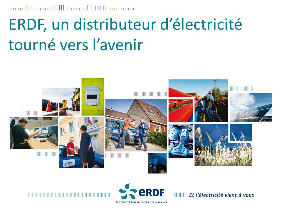 ERDF, un distributeur d'électricité