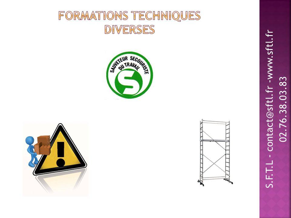 Formations Techniques Diverses