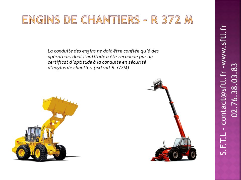 Engins de chantiers - R 372 M