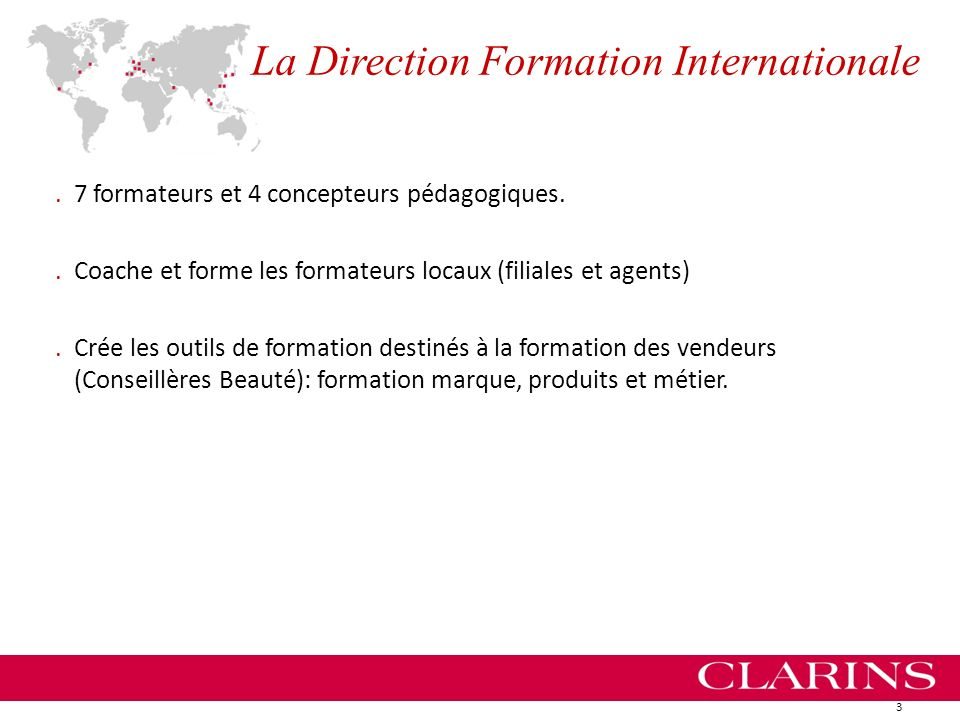 La Direction Formation Internationale