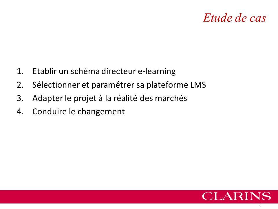 Etude de cas Etablir un schéma directeur e-learning
