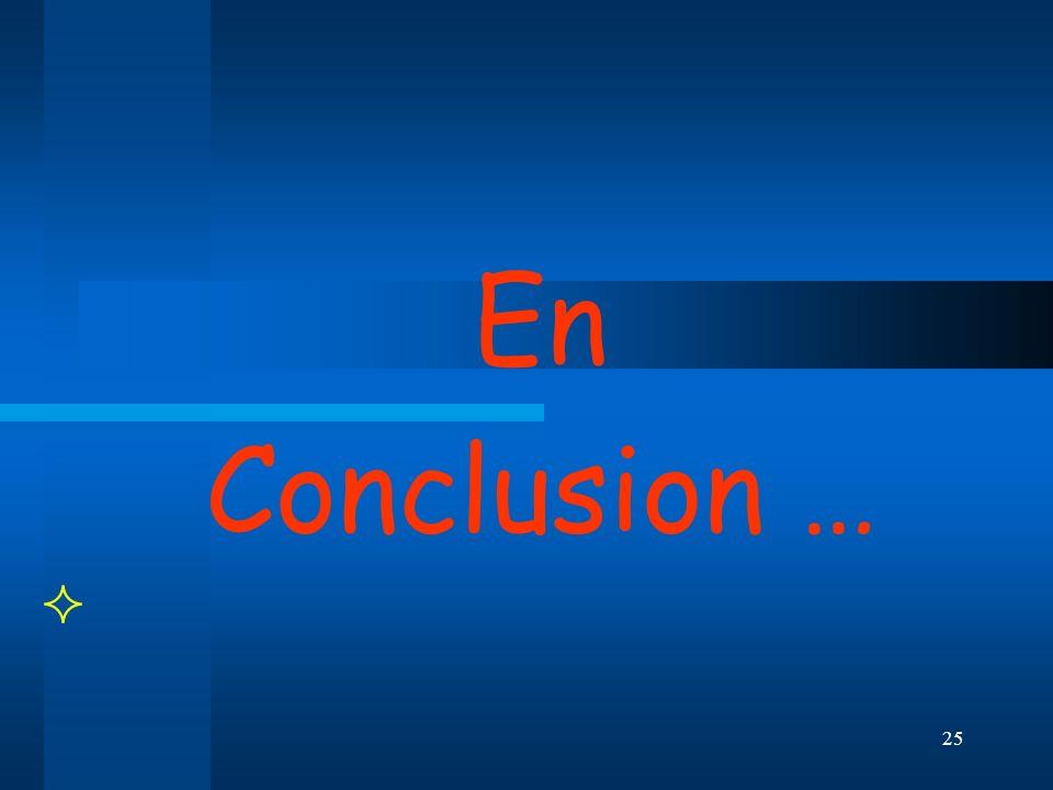 En Conclusion …  BRIGITTE