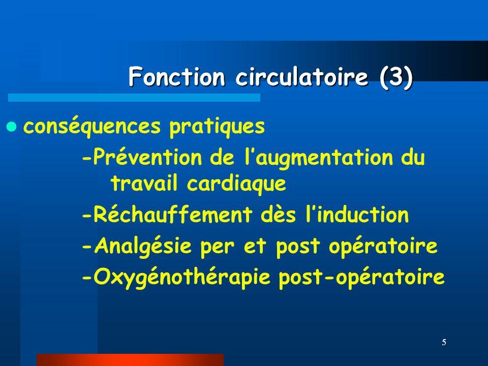 Fonction circulatoire (3)