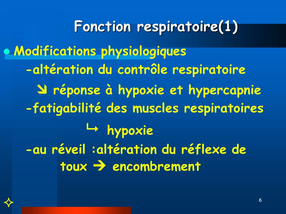 Fonction respiratoire(1)