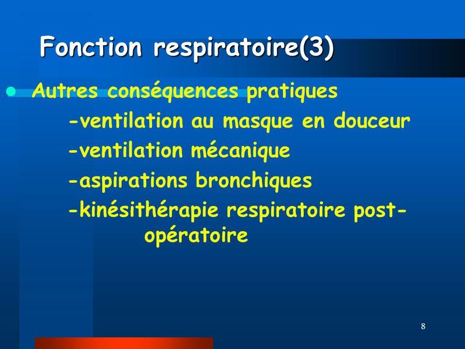 Fonction respiratoire(3)