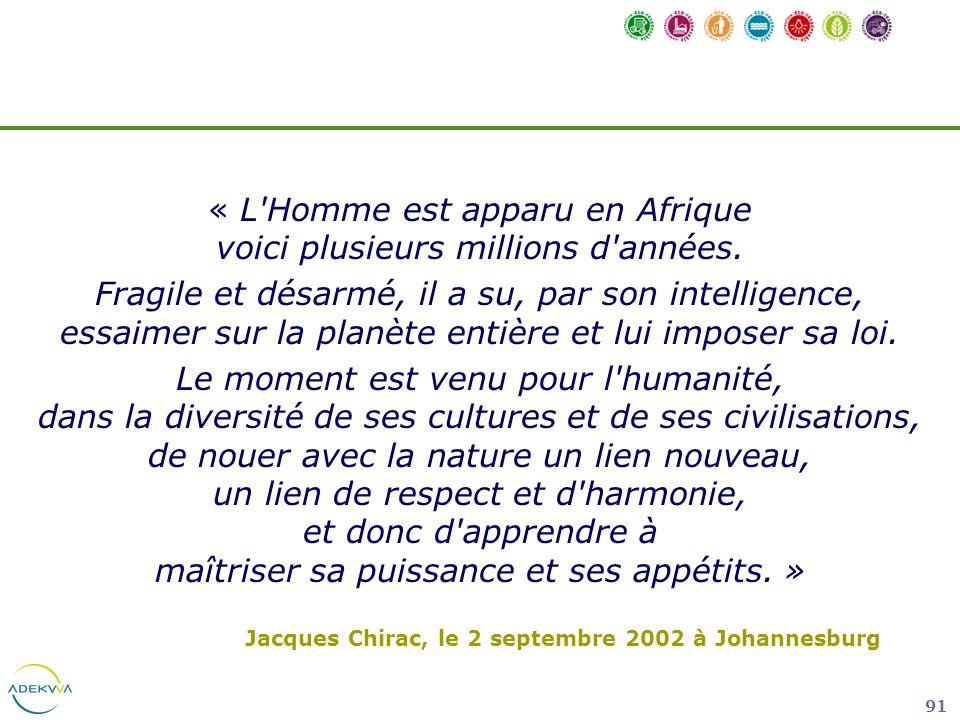 « L Homme est apparu en Afrique voici plusieurs millions d années.