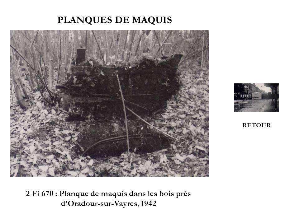PLANQUES DE MAQUIS RETOUR.