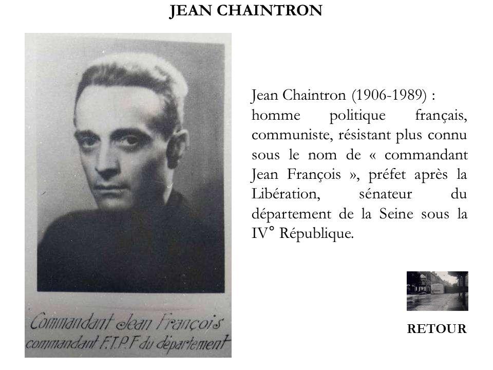 JEAN CHAINTRON Jean Chaintron (1906-1989) :