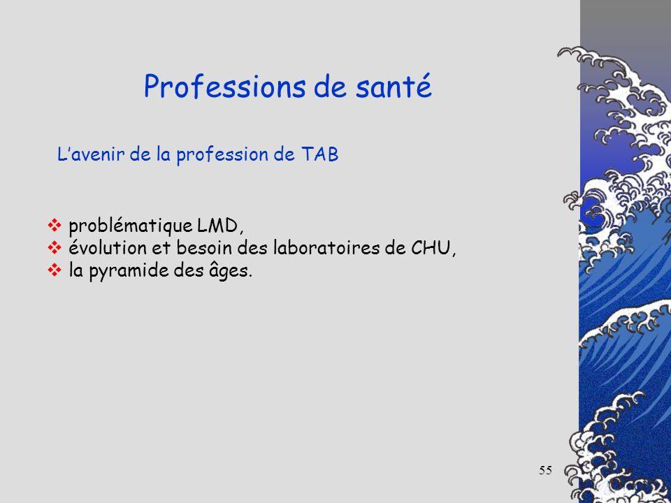 Professions de santé L'avenir de la profession de TAB