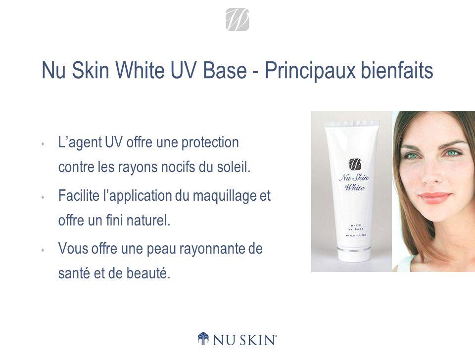 Nu Skin White UV Base - Principaux bienfaits